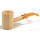Original Missouri Quality Corncob Pipe - Shape: Potogold