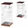 Transparent Cigar Humidor Cabinet '42 with Digital Hygrometer for ca 250 cigars