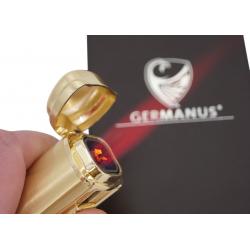 GERMANUS Kaventsmann Jetflame Torch Lighter in Gold