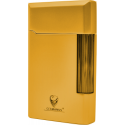 GERMANUS Lighter, Gold, Full Metall - Plated with Genuine Gold