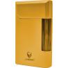 GERMANUS Feuerzeug, Vollmetall, Gold mit Echtgold vergoldet
