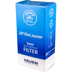 VAUEN Dr. Perl 6mm Filter, 30 Filter