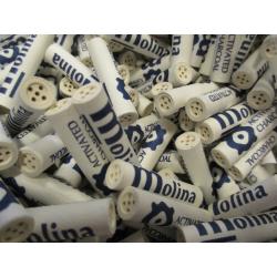 Molina Aktivkohle Filter 9mm Pfeifen Filter, 250 St.