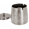GERMANUS Storm Ashtray from Stainless Steal massive 10 cm