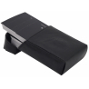 GERMANUS Business Card Case - Hand Made in EU, Black Leather free