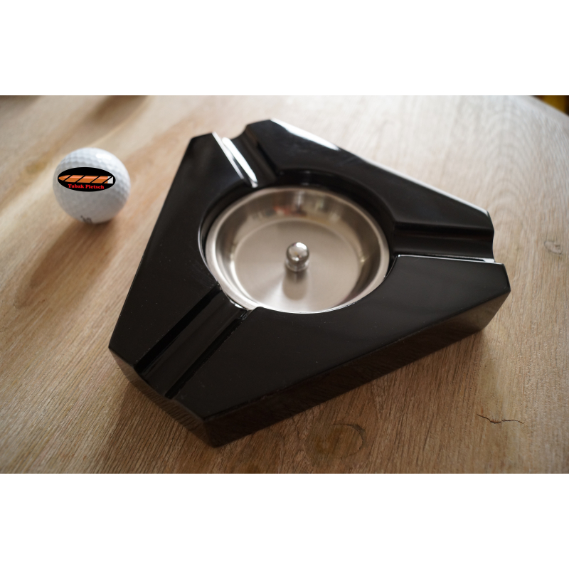 germanus zigarren aschenbecher mit 3 ablagen tabak pietsch. Black Bedroom Furniture Sets. Home Design Ideas