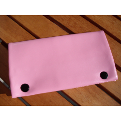 Rubber Lined Tobacco Pouch - Style Pink