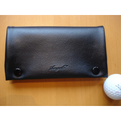 Rubber Lined Tobacco Pouch - Style Black B