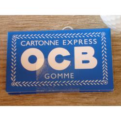OCB Blau Gomme Zigaretten Papier Paper