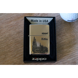 Zippo Feuerzeug - Köln mit Kölner Dom