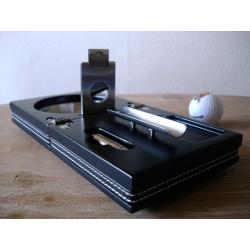 Die Box - Set aus Zigarren Aschenbecher Cutter Bohrer Ablage