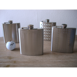 ZORR Pocket Flask from Stainless Steel