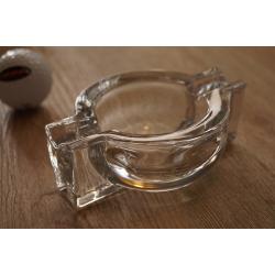 Robuster Kristall Glas Zigarrenascher Zigarrenaschenbecher