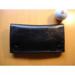 Gummierte Tabaktasche in Schwarz - Modell 6