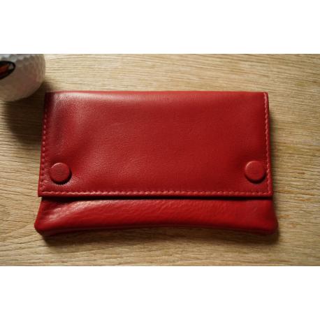 Tabaktasche Leder - Schwarz Rot Blau Grün Braun