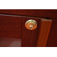 GERMANUS® Cigar Humidor Commode Cabinet with GERMANUS Humidifier for ca 50 boxes of cigars