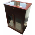 GERMANUS® Cigar Humidor Cabinet Commode with GERMANUS Humidifier for ca 50 boxes of cigars