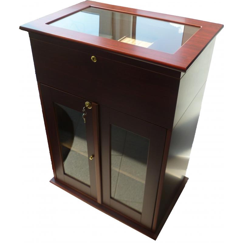 germanus zigarren kommoden schrank humidor f r ca 50 zigarrenkisten mit germanus befeuchter. Black Bedroom Furniture Sets. Home Design Ideas