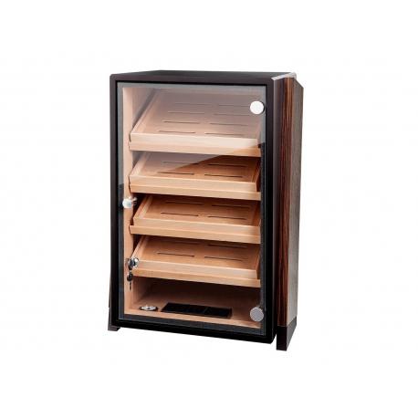germanus cigar humidor cabinet with germanus pad humidifier for ca 200 cigars - Cigar Humidors