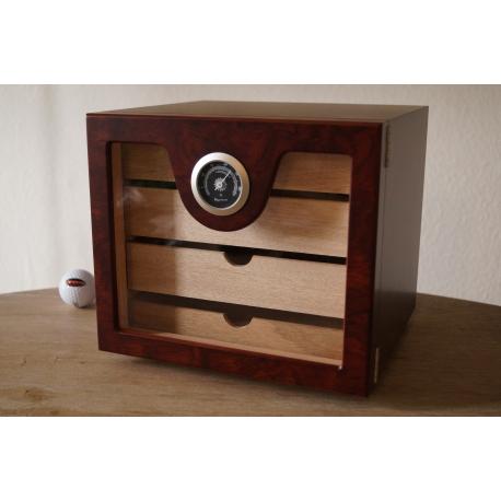 Little Humidor Cabinet Cigar Humidor In Brown