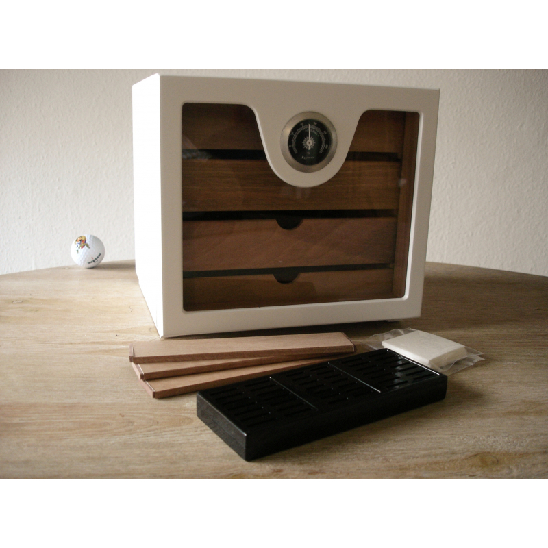 kleiner zigarren humidor schrank w rfel classic tabak. Black Bedroom Furniture Sets. Home Design Ideas
