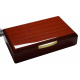 GERMANUS Licca Cigar Humidor with Digital Hygrometer and Metal Humidifier for ca 100 cigars