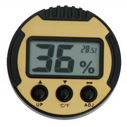 Kalibrierbarer Digital Humidor Hygrometer - Rund I