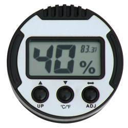 Adjustable Digital Humidor Hygrometer - Round I