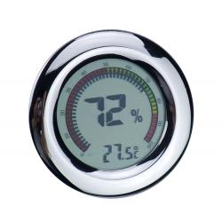 Kalibrierbarer Digital Humidor Hygrometer - Rund II