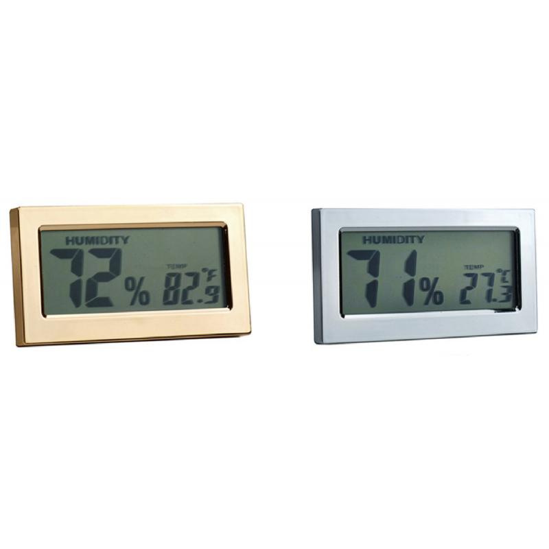 digital humidor hygrometer viii tabak pietsch. Black Bedroom Furniture Sets. Home Design Ideas