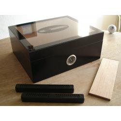 B-Ware: Black Beauty Humidor für Zigarren