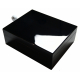 """GERMANUS """"Lunch Box"""" Cigar Humidor with metal inlays and Digital Hygrometer for ca 50-100 cigars"""