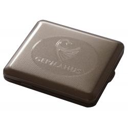 Zigaretten Etui - Made in Germany - GERMANUS Nickel matt