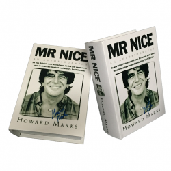 "Kavatza Buch Box - mit Autogramm - Rollset in Buch: Howard Marks: Book Box ""Mr Nice"""