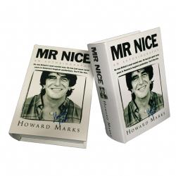 """Kavatza Buch Box - mit Autogramm - Rollset in Buch: Howard Marks: Book Box """"Mr Nice"""""""