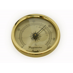 Hygrometer Replacement for Humidor 37mm, Design 2