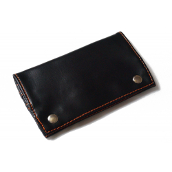 Classic Leather Free Tobacco Pouch inBlack