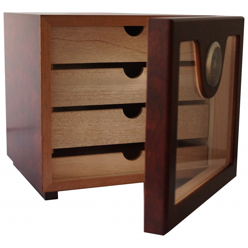 germanus zigarren humidor schrank w rfel basis ii braun germanus. Black Bedroom Furniture Sets. Home Design Ideas