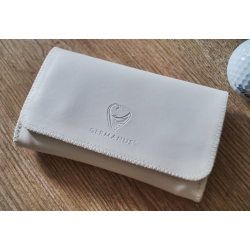 GERMANUS Tabaktasche Pouch - Lederfrei - Pocket Bianco