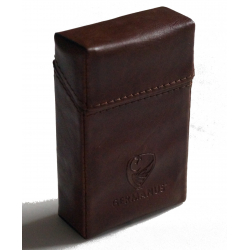 GERMANUS Cigarette Packaging Box - Leather Free - Tan