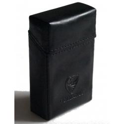 GERMANUS Packungsetui für Zigaretten - Lederfrei - Tenebris