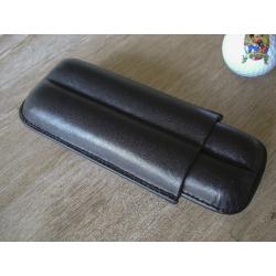 Angelo® Leder Zigarren Etui für 2 Zigarren