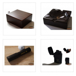 GERMANUS Humidor Set Classic 4