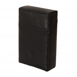 GERMANUS Cigarette Packaging Box - Leather - Made in EU - Ater