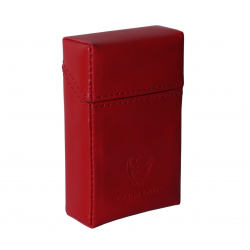 GERMANUS Cigarette Packaging Box - Leather - Made in EU - Robus