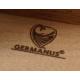 GERMANUS Schwarz Zigarren Humidor mit Digital Hygrometer in Pink für ca. 50 Zigarren