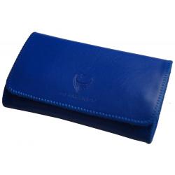 GERMANUS Tabaktasche - Lederfrei, vegan, tierfrei - Made in EU - Pocket Lividus, blau