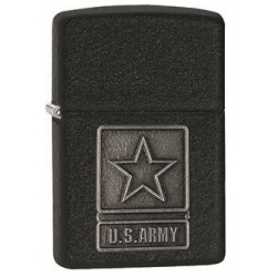 Zippo Lighter - US Army with Cracle Emblem