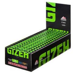 Gizeh Black Fine Magnet Zigarettenpapier, 20 x 100 Blättchen