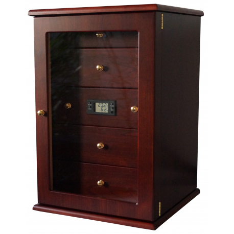 germanus humidor schrank mit digitalhygrometer und germanus kristallbefeuchter f r ca 400. Black Bedroom Furniture Sets. Home Design Ideas